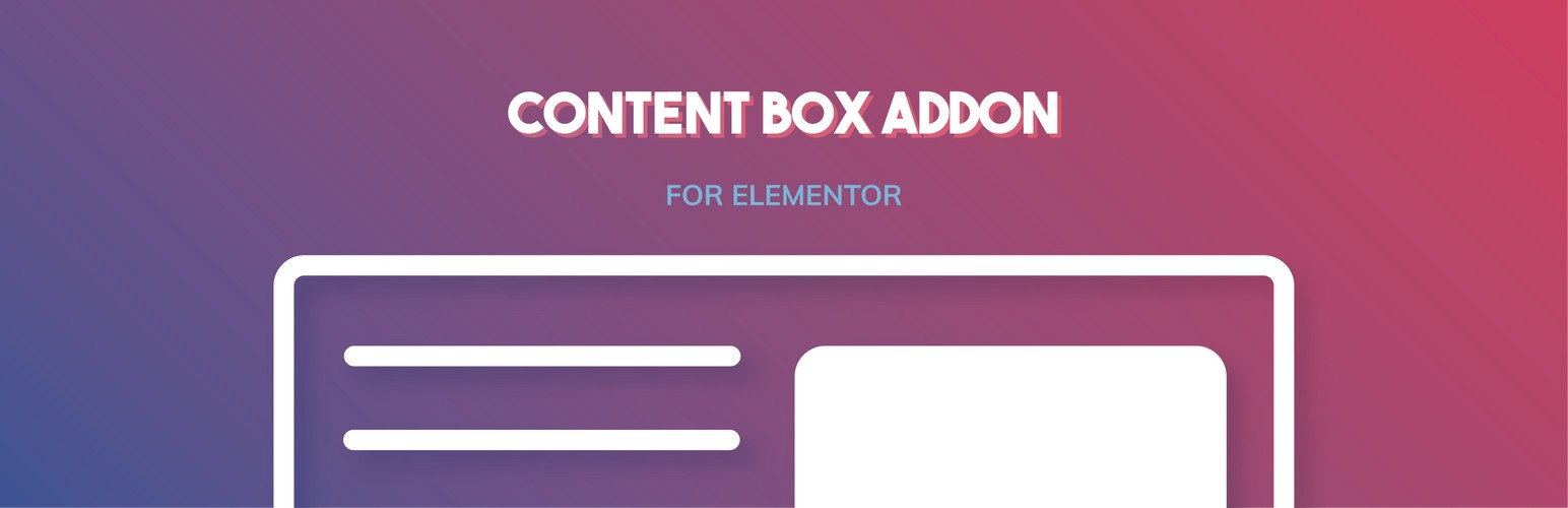CONTENT BOX ADDON FOR ELEMENTOR BANNER LOOK