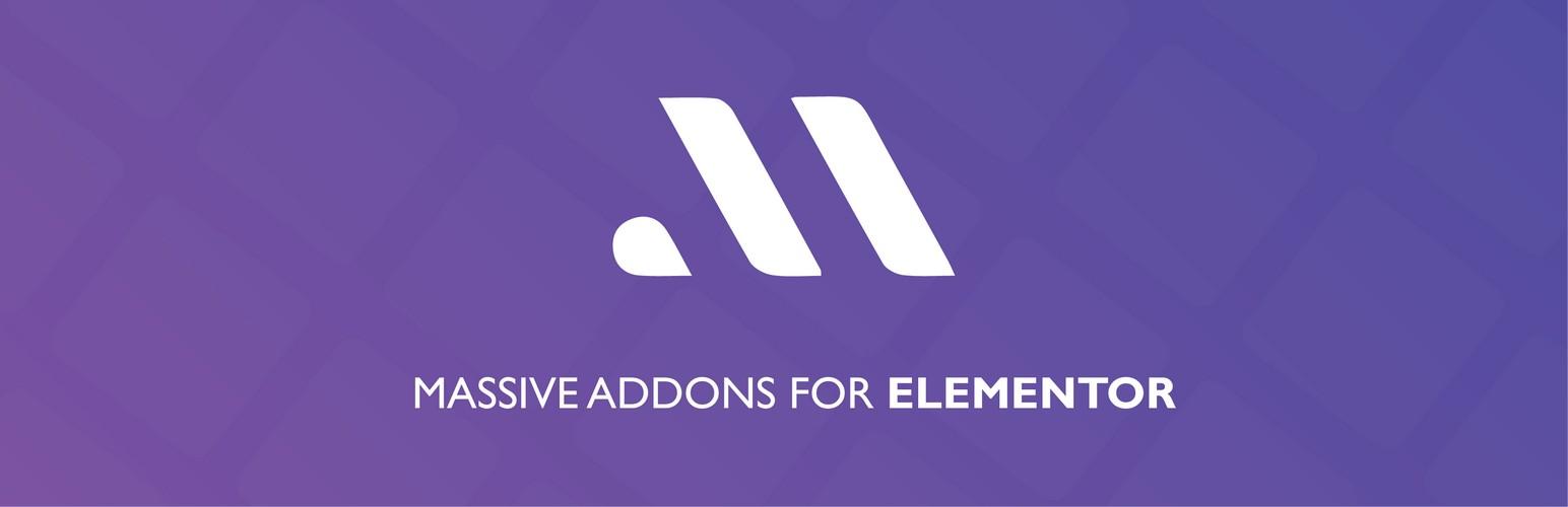 MASSIVE ADDONS FOR ELEMENTOR BANNER LOOK
